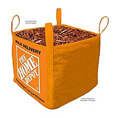 Brown Mulch - Bulk Delivered Bag - 1 Cubic Yard
