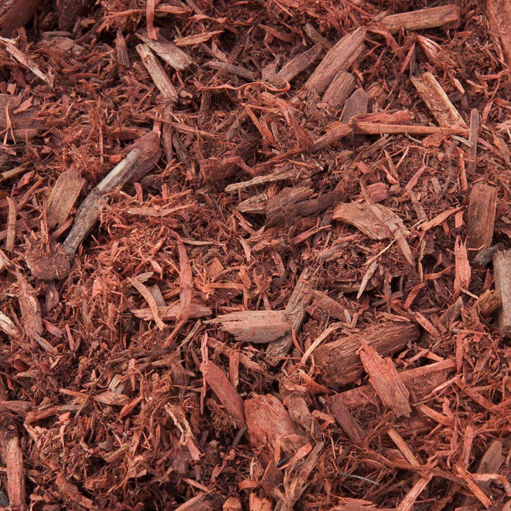 Red Mulch- Bulk Delivered Bag- 1 Cubic Yard