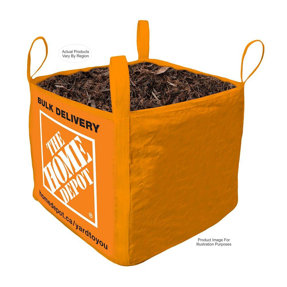 Black Mulch- Bulk Delivered Bag- 1 Cubic Yard