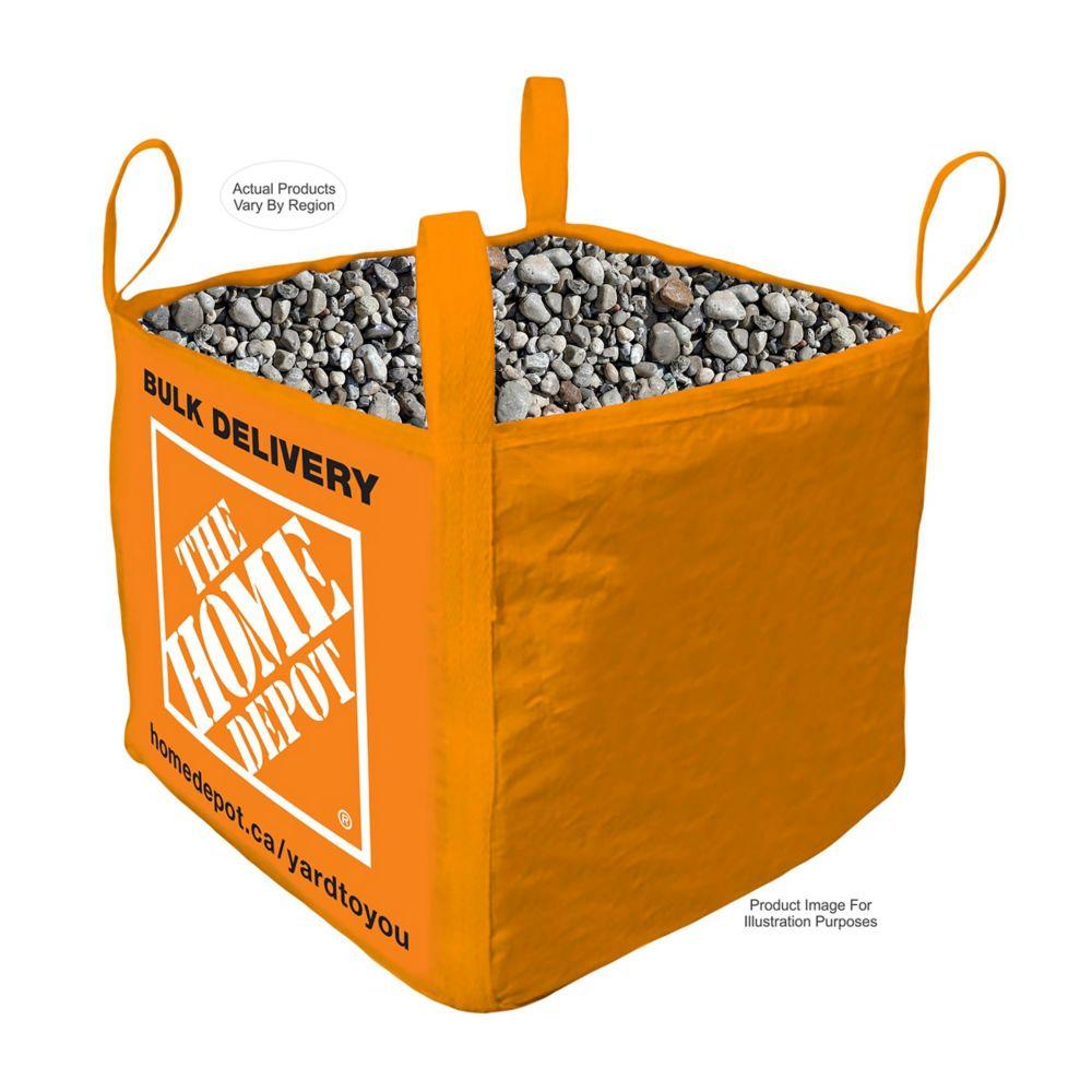 River Stone- Bulk Delivered Bag- 1 Cubic Yard