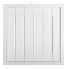 Wireless or Wired Door Bell - White Bead Board