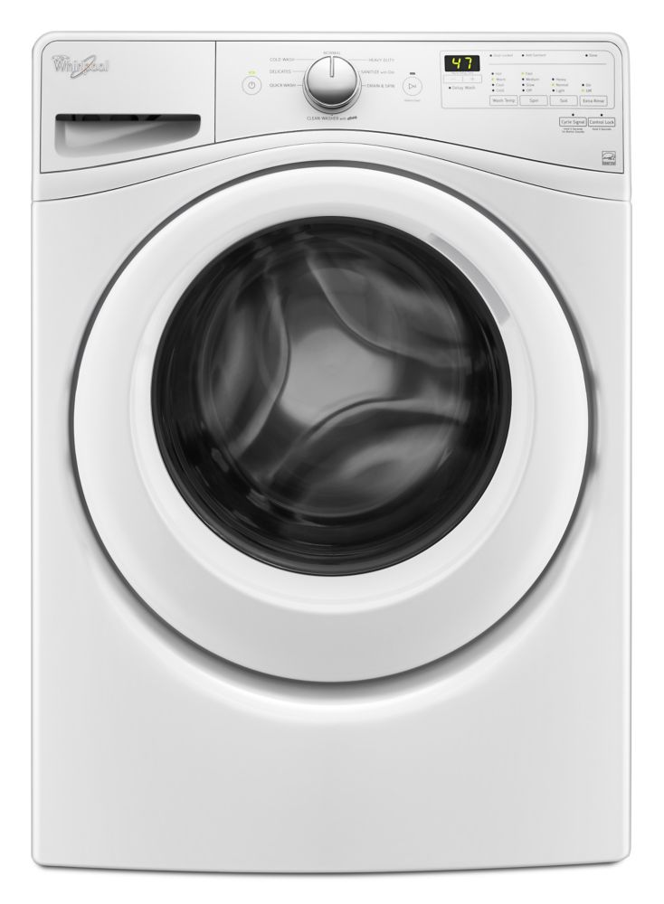 4.8cu. FeetIEC Capacity, Front Load Washer with Cold Wash Cycle