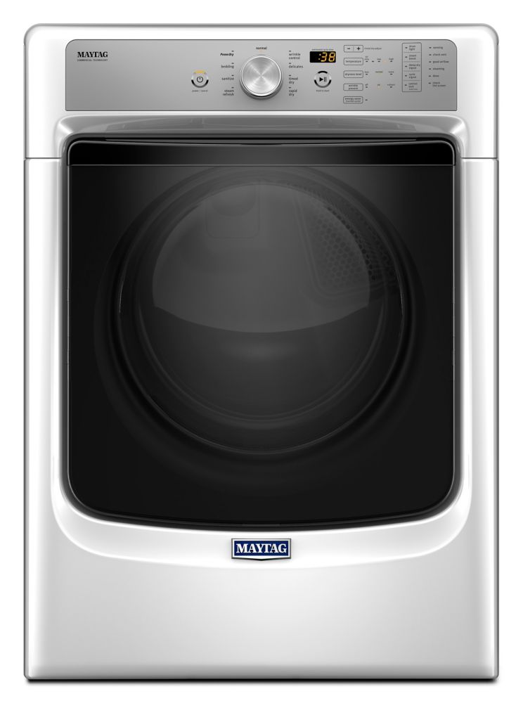 Large Capacity Dryer with Sanitize Cycle and PowerDry System - 7.4 cu. ft