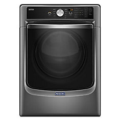 7.4 cu. ft. Front Load Gas Dryer with Steam and PowerDry System in Metallic Slate