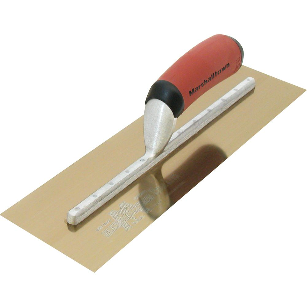 13 X 5 GS Finishing Trowel Curved DuraSoft Handle