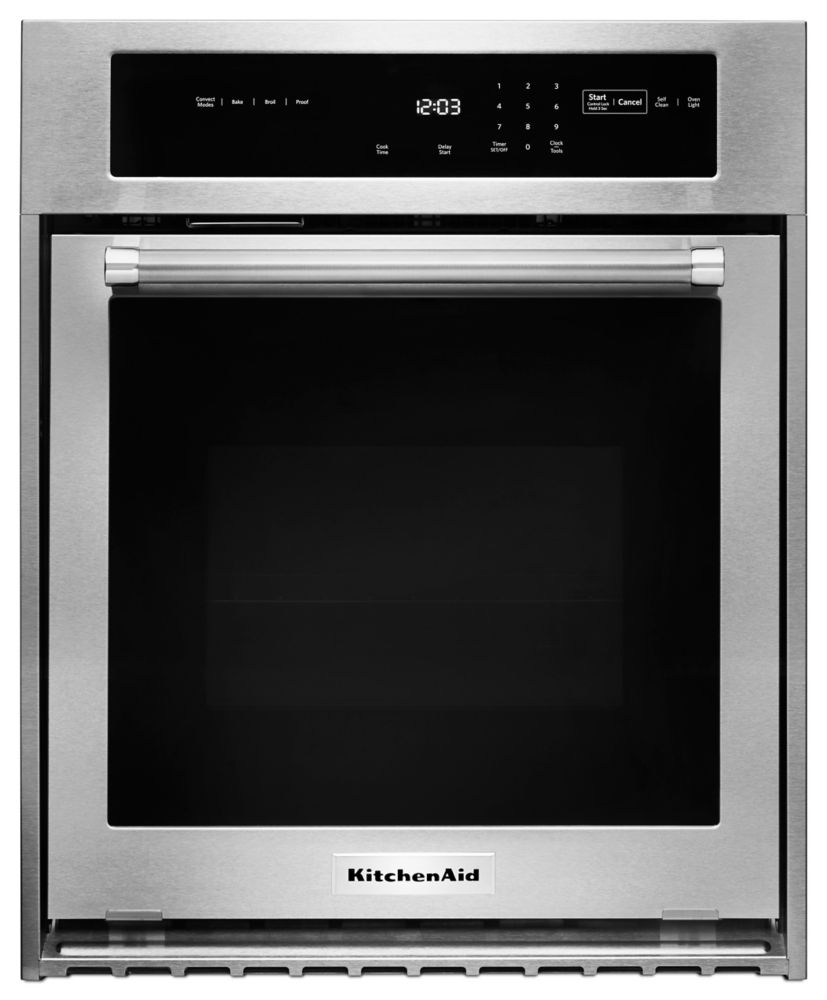 Four encastré simple KitchenAid<sup>®</sup> de 24 po avec convection véritable
