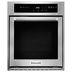 24 Inch  Single Wall Oven With True Convection