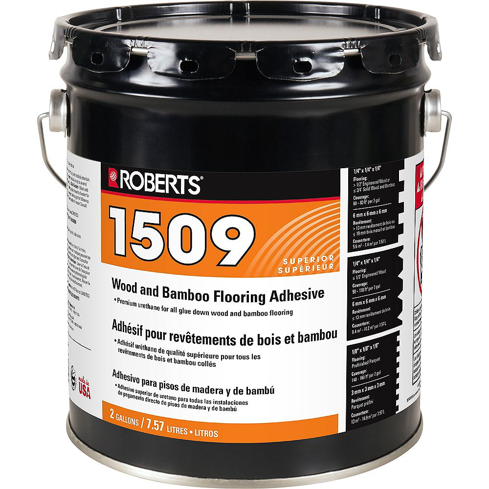 Roberts WOOD and BAMBOO ADHESIVE 2-Gal