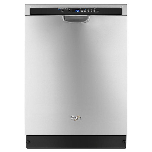 Lave-vaisselle à commande frontale en acier inoxydable avec cuve en acier inoxydable, 50 dBA - ENERGY STAR