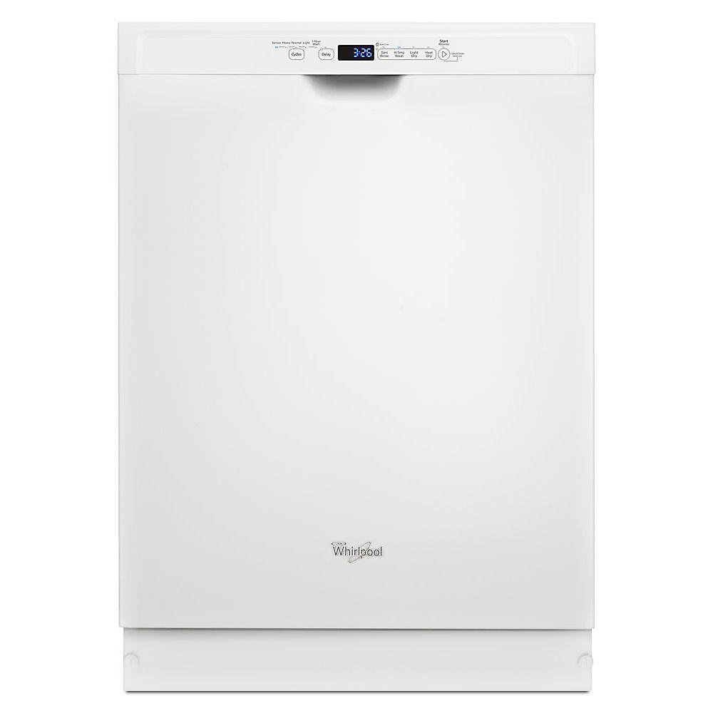 Front-Control Dishwasher in White with Stainless Steel Tub, 50 dBA - ENERGY STAR®
