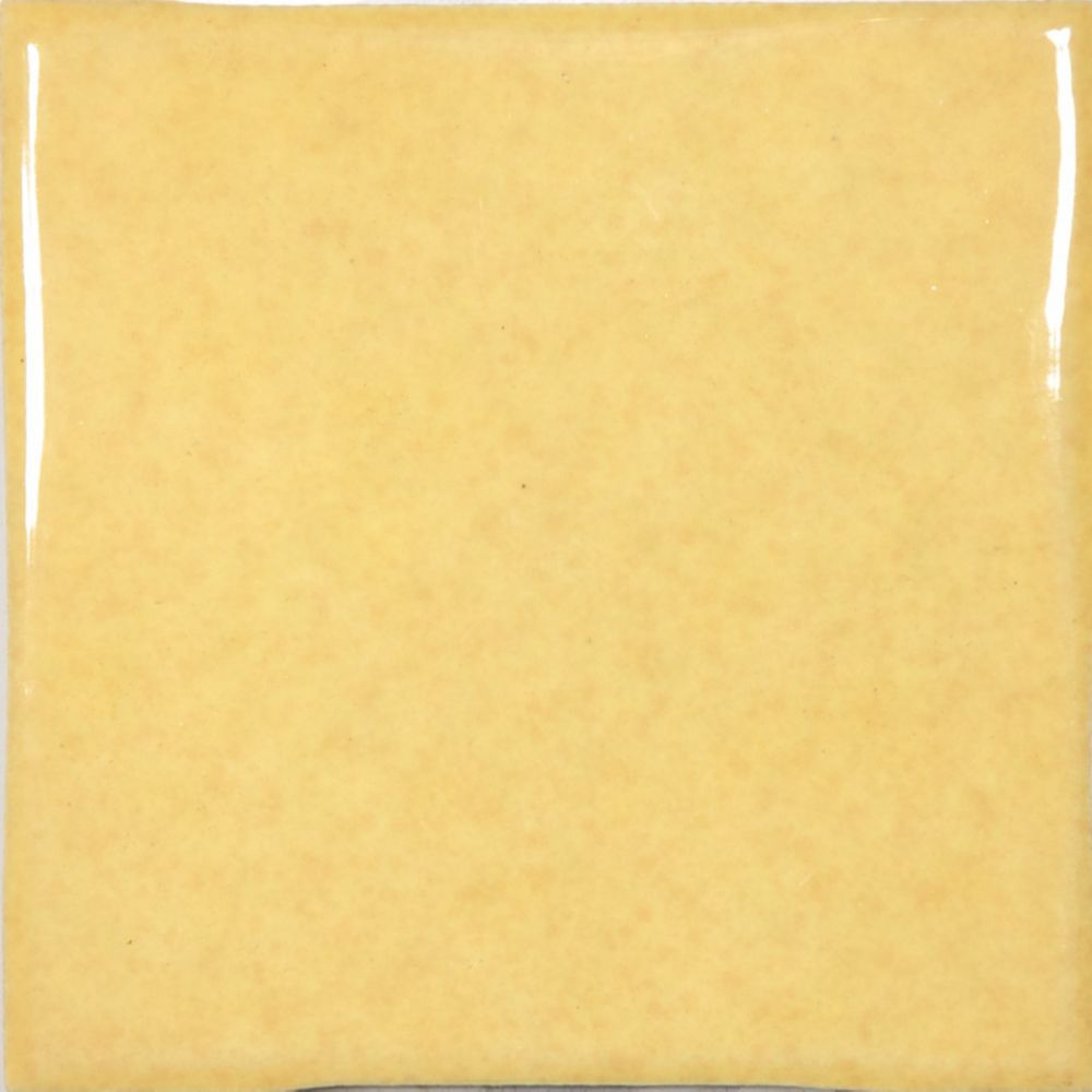 Mediterrano 4-inch x 4-inch Wall Tile in Yellow (6.89 sq. ft./case)