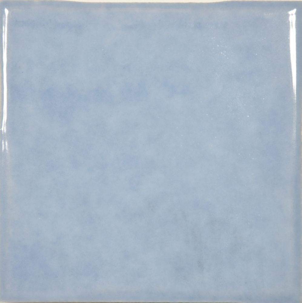 "4""x4"" Mediterrano Blue Wall Tile (64 pcs / 6.89 sqft per box)"