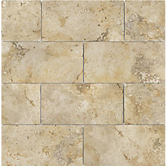 3-inch x 6-inch Capri Giallo Porcelain Tiles, Set of 44 (5.38 sq. ft./case)