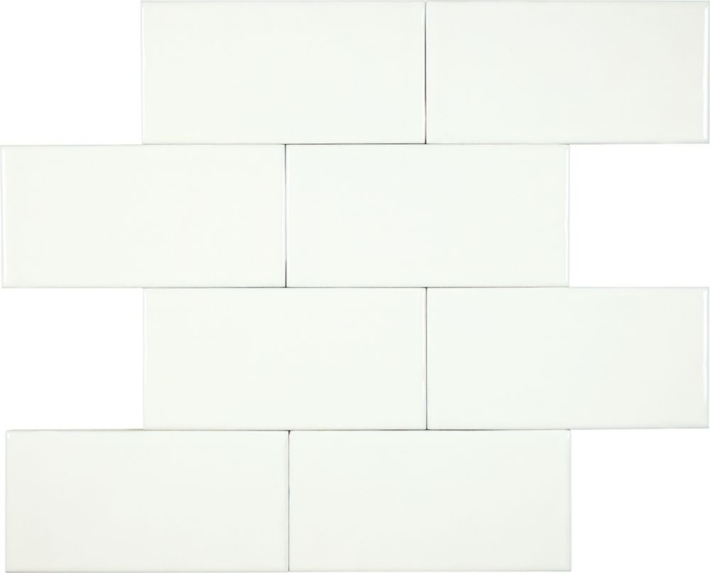 "3""x6"" Wolfe Creek Bone Wall Tile (24 pcs / 3.00 sqft per box)"