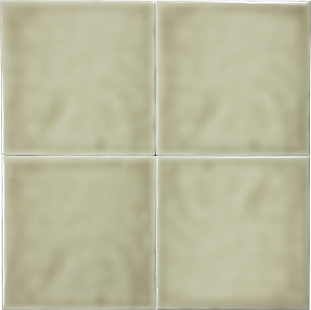 Wolfe Creek 6-inch x 6-inch Wall Tile in Sage (3.00 sq. ft./case)
