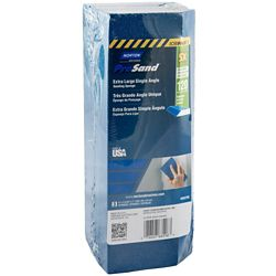 Norton Prosand 5X Extra Large Single Angle Sponge 120g Medium 3-5/16 inch x 9 inch x1 inch (3-Pack)