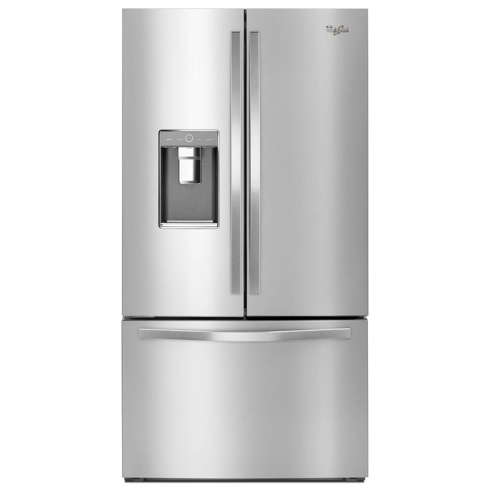 36-Inch Wide French Door Refrigerator with Infinity Slide Shelf - 32 cu. Feet