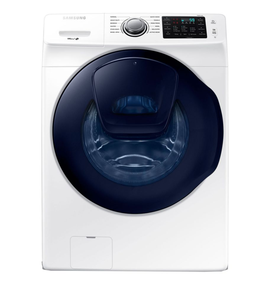 5.2 Cu. Feet White Front Load Washer With Adwash - WF45K6200AW