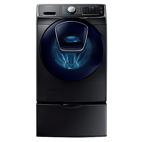 5.2 cu. ft. Front-Load Washer With AddWash in Black Stainless Steel - ENERGY STAR®