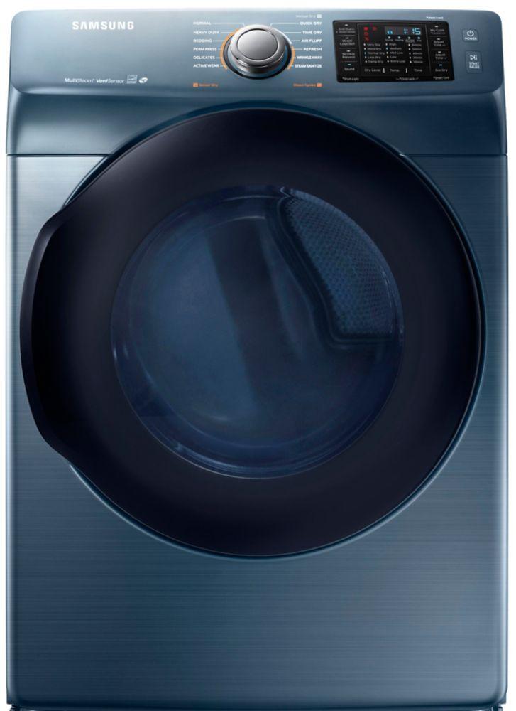 7.5 Cu. Feet Blue Sapphire Electric Dryer - Dv45k6200ez