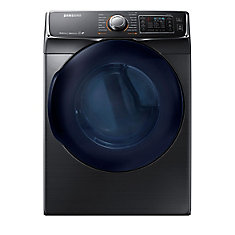 7.5 cu. ft. Front-Load Electric Dryer in Black Stainless Steel - ENERGY STAR®