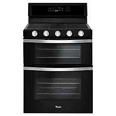 6.0 Total cu. Feet  Double Oven Gas Range with Convection Cooking