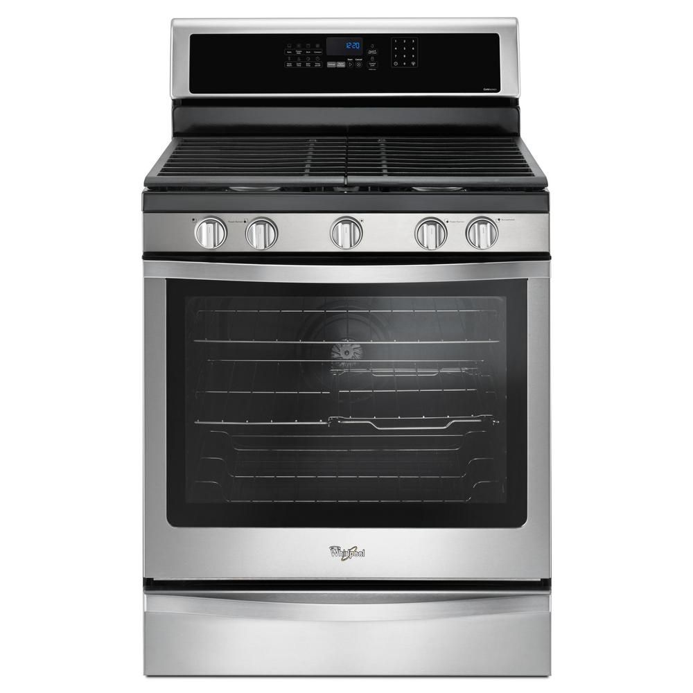 5.8 Cu. Feet  Freestanding Gas Range with Center Oval Burner