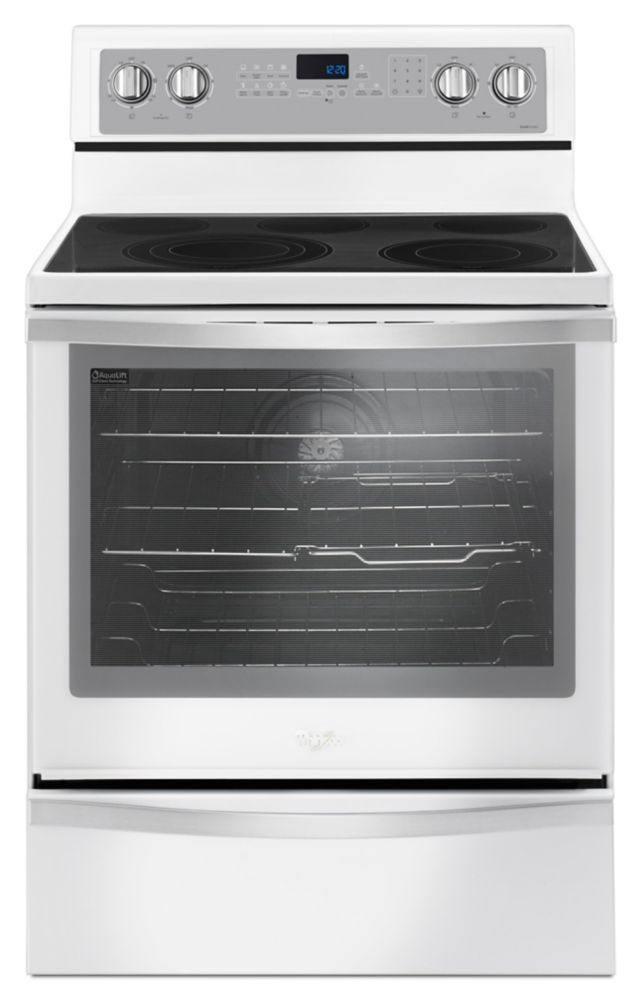 6.4 Cu. Feet  Freestanding Electric Range with True Convection