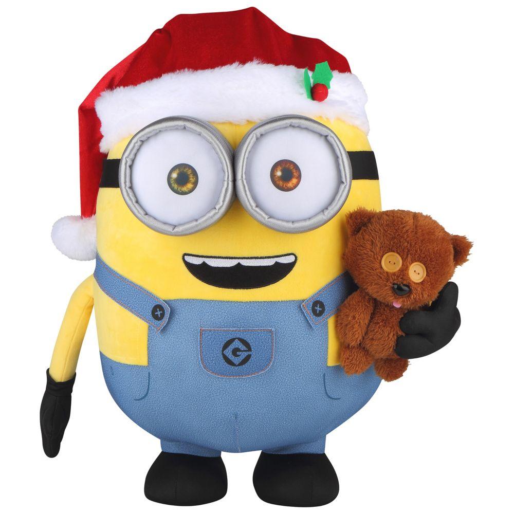 Holiday Greeter Bob With Teddy Bear