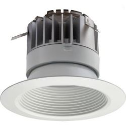 Lithonia Lighting 4 Inch LED Recessed Baffle Module 30K 90CRI - Matt White