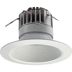 Lithonia Lighting 5 Inch LED Recessed Baffle Module - Matt White