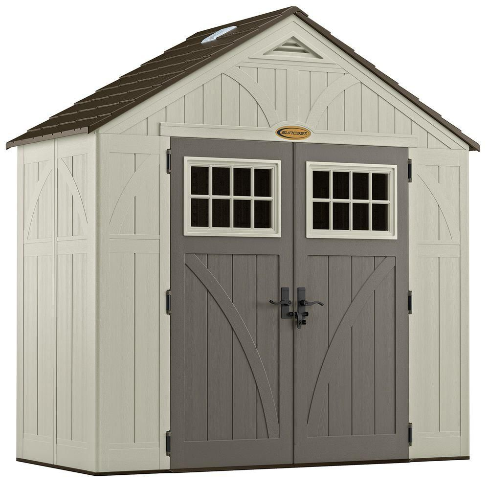 8 Feet  X 4 Feet  Tremont Shed