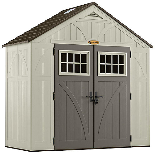 8 ft. x 4 ft. Tremont Shed
