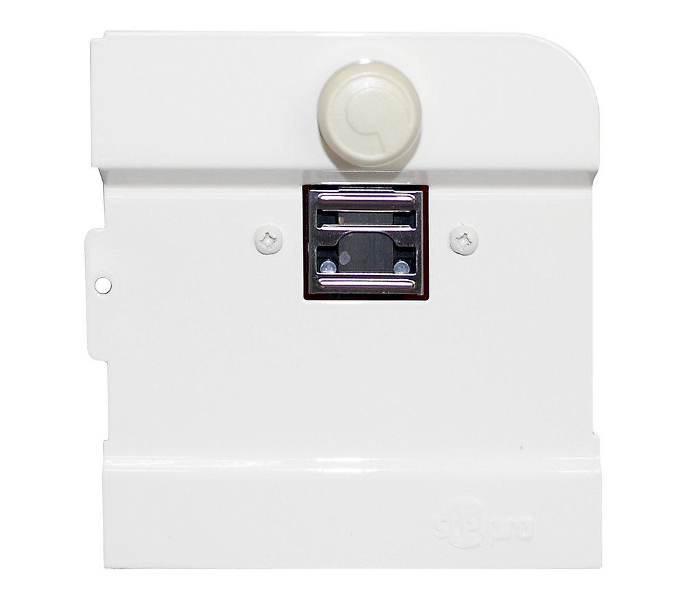 Thermostat intégré simple pole pour plinthe électrique B
