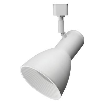 Tête large et blanche à1lampe DEL déclairage sur rail