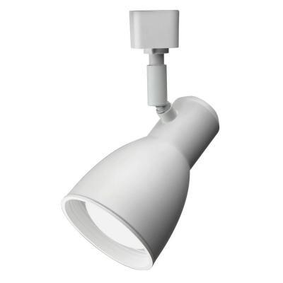 Track Lighting 1 Light White Step Baffle Narrow Head - LED