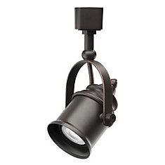 Track Lighting 1 Light Oil Rubbed Bronze Spot Light Style Head - LED