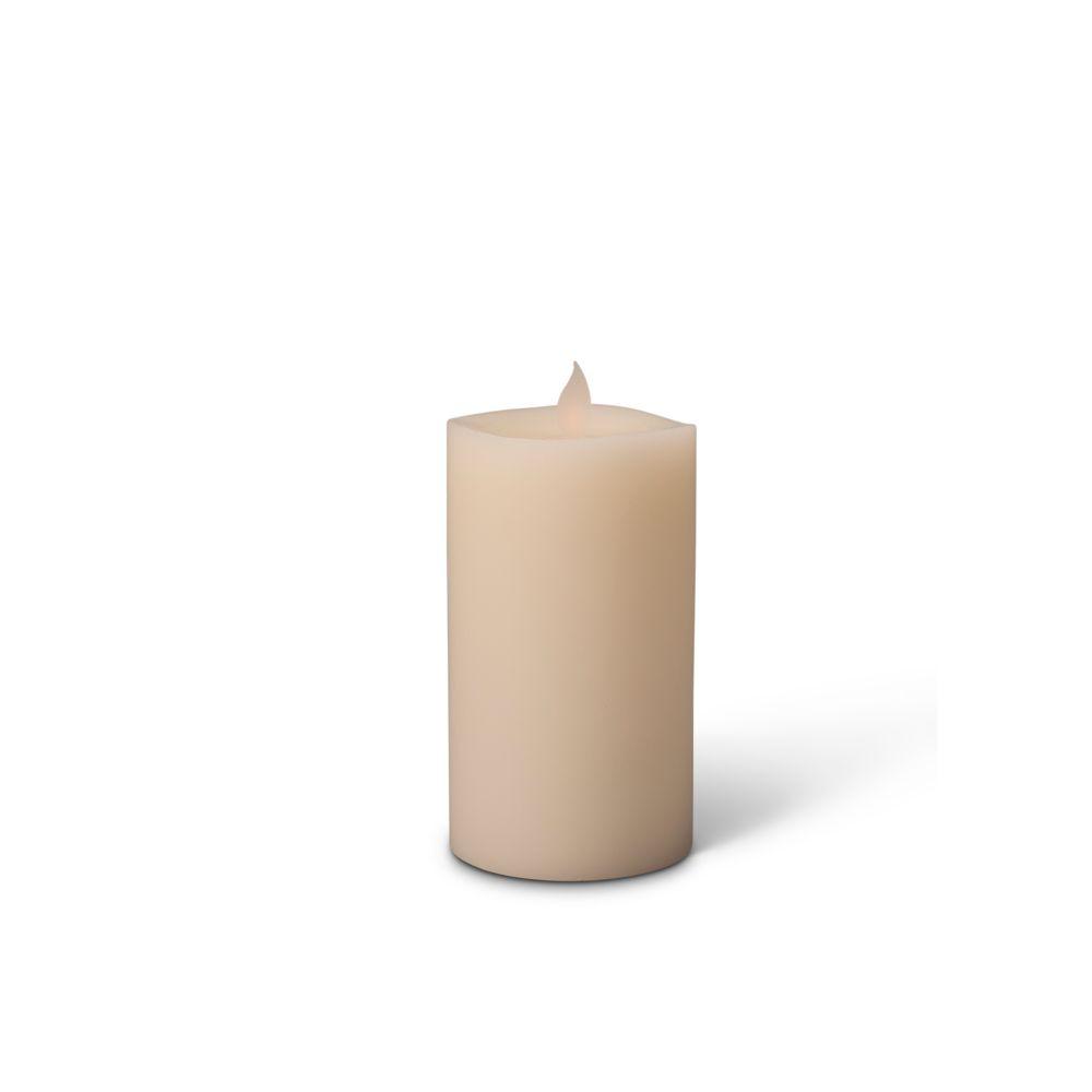 Bougie à DEL de 7,62x15,24cm (3x6po) à flamme vascillante