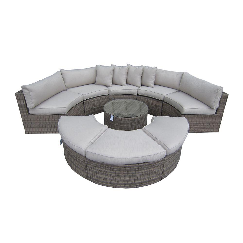 9 Piece Sofa Set