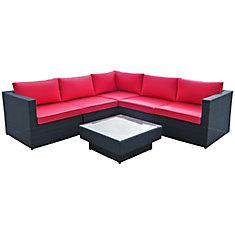 6-Piece Patio Sofa Set