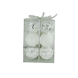 MSL White Ornament (12-Pack)