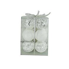 White Ornament 12pk