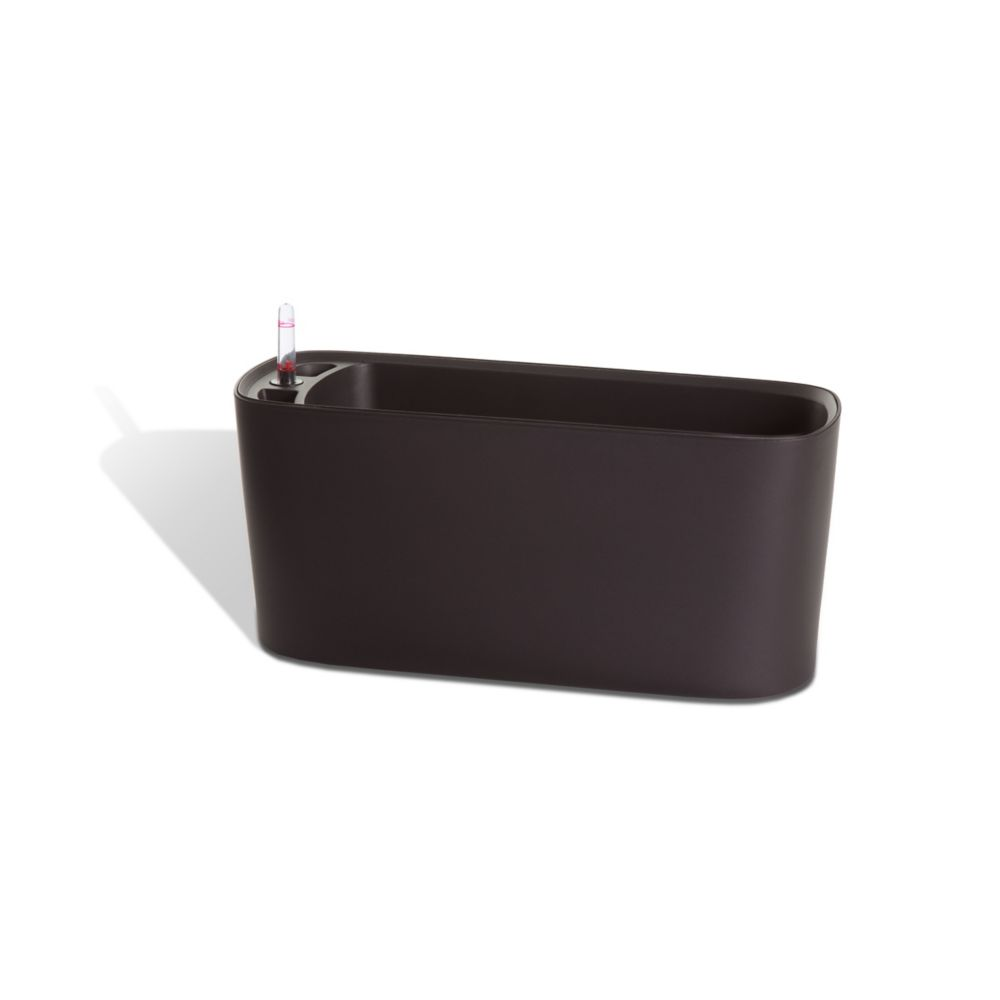 15105 Self Watering Modena Windowsill Planter And Herb Garden - Matte Mocha
