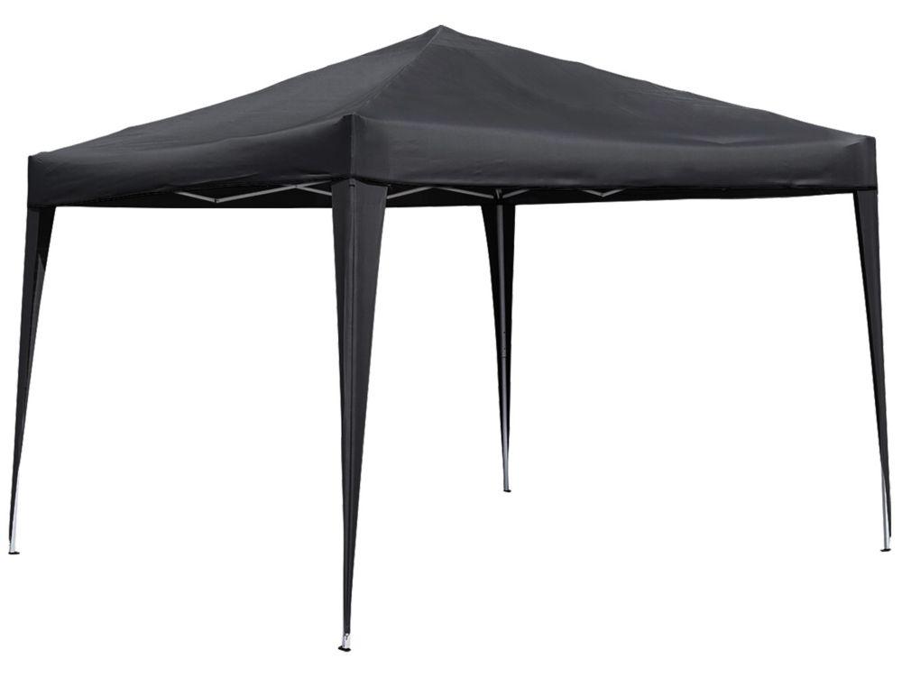 10 ft. x 10 ft. Pop-Up Gazebo in Black