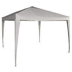 10 ft. x 10 ft. Pop-Up Gazebo in Grey