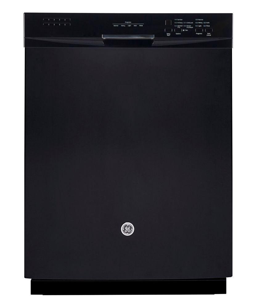 GE Lave-vaisselle encastré Noir