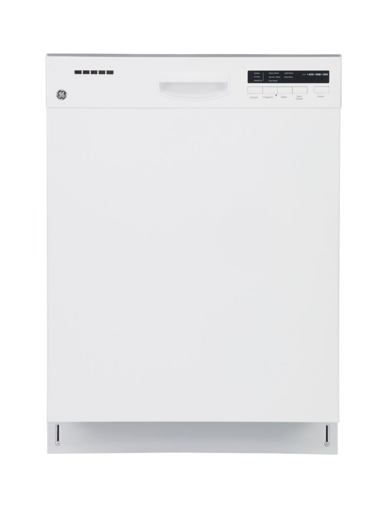 White Built In Tall Tub Dishwasher