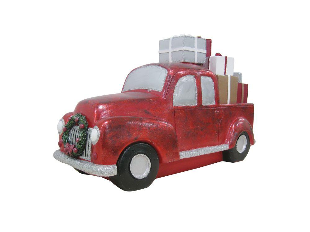 Car With Bottlebrush Tree Cherry Satin