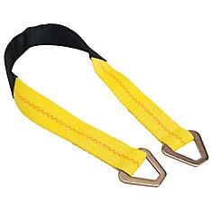 36 Inch X 2 Inch Axle Strap W/D-Ring