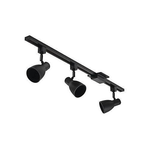 44 1/2-inch 3-Light LED Track Kit in Black